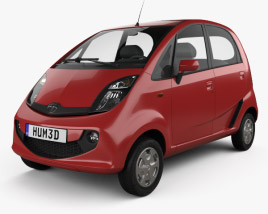 3D model of Tata Nano GenX 2015