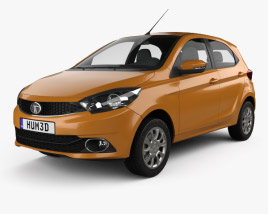 3D model of Tata Zica 2016
