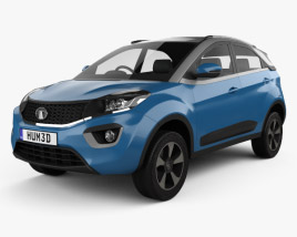 3D model of Tata Nexon 2016