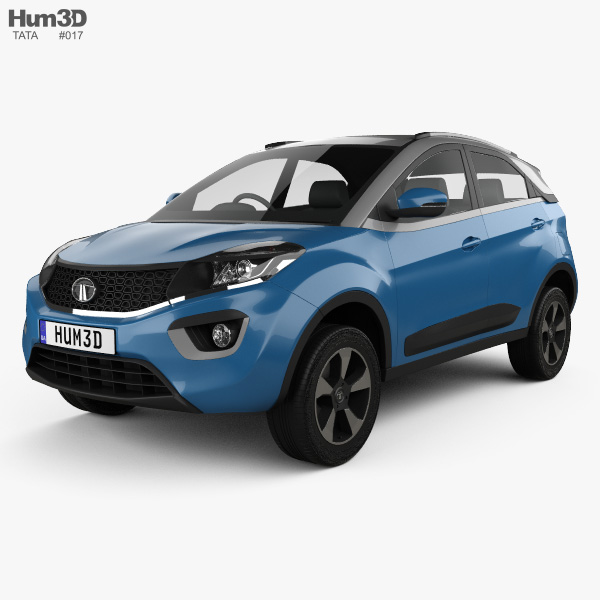 Tata Nexon 2016 3D model