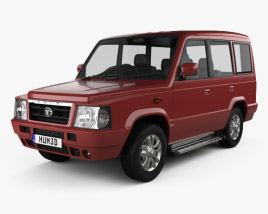 3D model of Tata Sumo Gold 2017