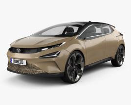 3D model of Tata 45X 2018