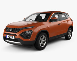 3D model of Tata Harrier 2019