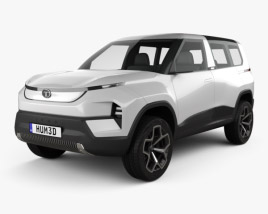 3D model of Tata Sierra 2020