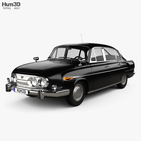 Tatra T603 1968 3D model
