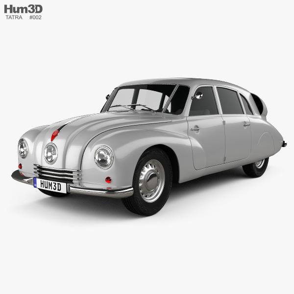 Tatra T87 1947 3D model