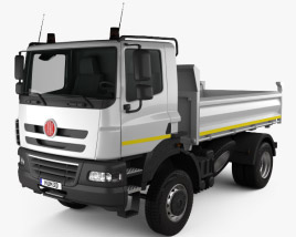 3D model of Tatra Phoenix Tipper Truck 2011