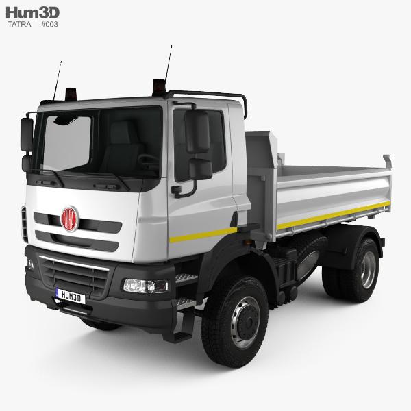 Tatra Phoenix Tipper Truck 2011 3D model
