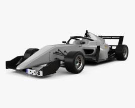 Tatuus F3 T-318 2018 Modello 3D