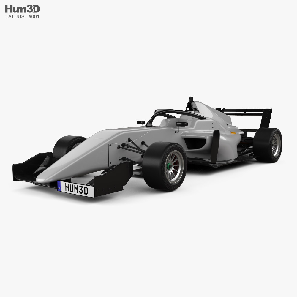 Tatuus F3 T-318 2018 3D model