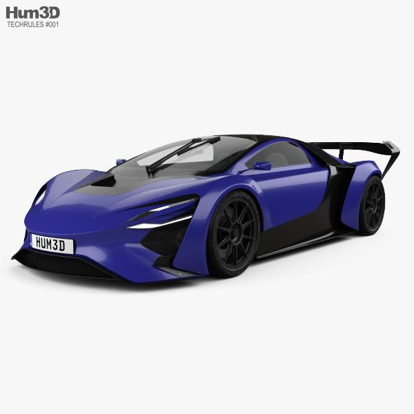 Techrules AT96 TREV 2016 3D model