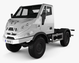 3D model of Tekne Graelion 75 Chassis Truck 2019