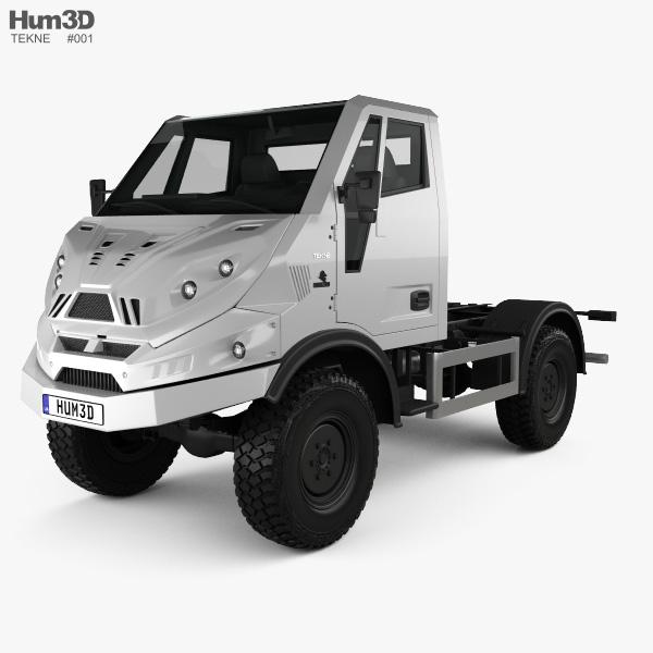 Tekne Graelion 75 Chassis Truck 2019 3D model
