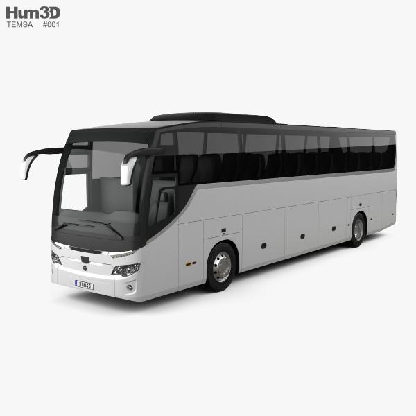 Temsa Maraton Bus 2015 3D model