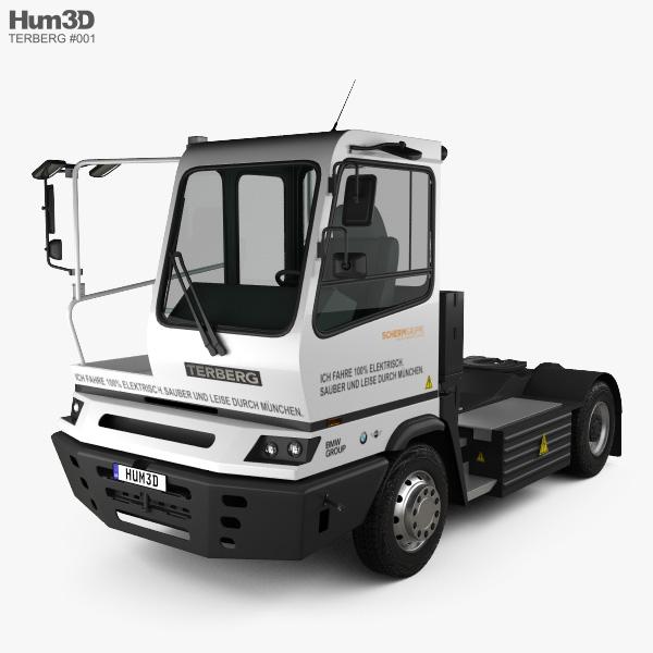 Terberg YT202-EV Factory Tractor Truck 2015 3D model