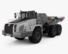 3D model of Terex TA400 Dump Truck 2011