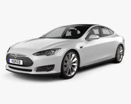 3D model of Tesla Model S 2012