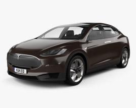 Tesla Model X Prototype 2014 3D model