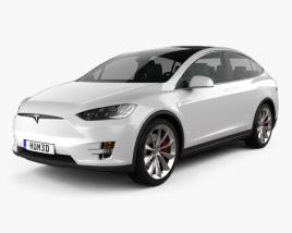 3D model of Tesla Model X 2016