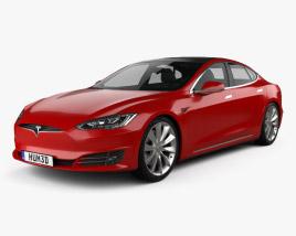 3D model of Tesla Model S 2016