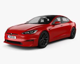 Tesla Model S Plaid 2021 3D model