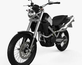 Test Motorcycle 2021 3D model