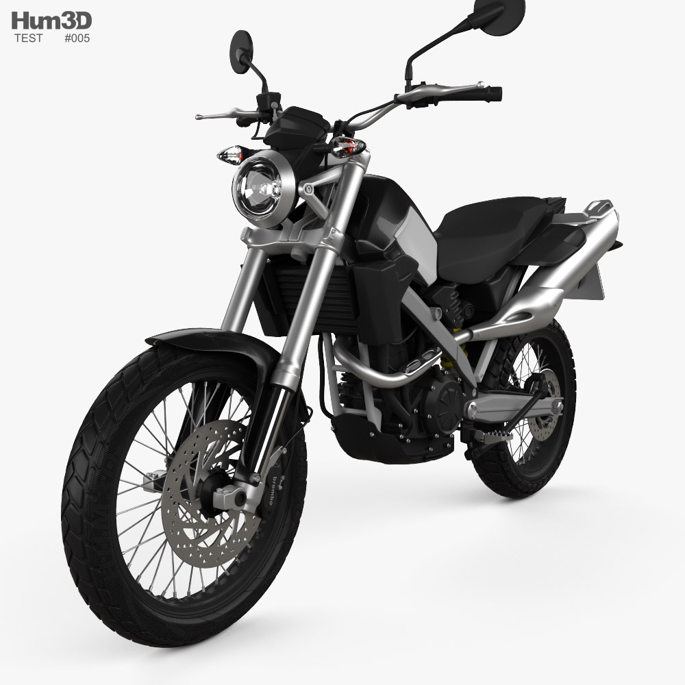 Test Motorcycle 2021 3D model