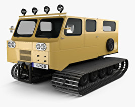 3D model of Thiokol Spryte 1200 Snowcat 2011