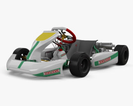 3D model of Tony Kart Rocky EXP 2014