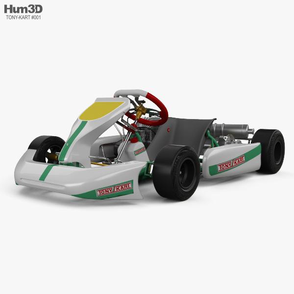 Tony Kart Rocky EXP 2014 3D model