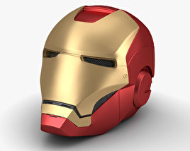 3D model of Iron Man Helmet