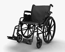 3D model of Wheelchair