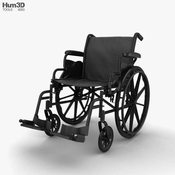 3D model of Wheelchair