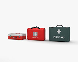 3D model of First Aid Kit