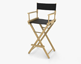 3D model of Director Chair