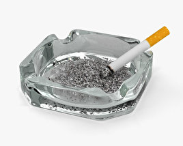 3D model of Ashtray
