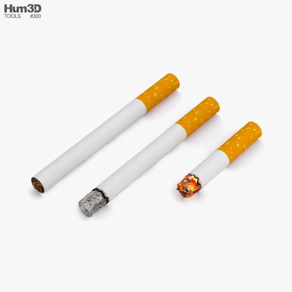 3D model of Cigarettes