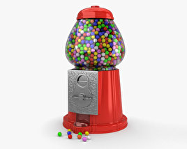 3D model of Gumball Machine