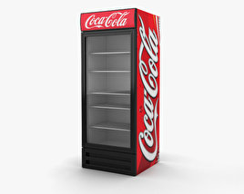 3D model of Coca-Cola Fridge