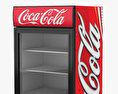 Coca-Cola Fridge 3d model