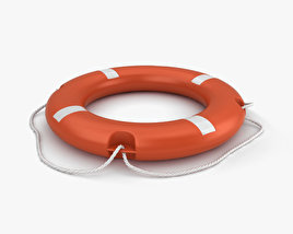 3D model of Lifebuoy