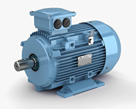 3D model of Electric Motor