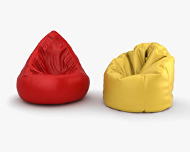 3D model of Bean Bag