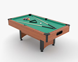 3D model of Pool Table