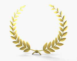 3D model of Laurel Wreath