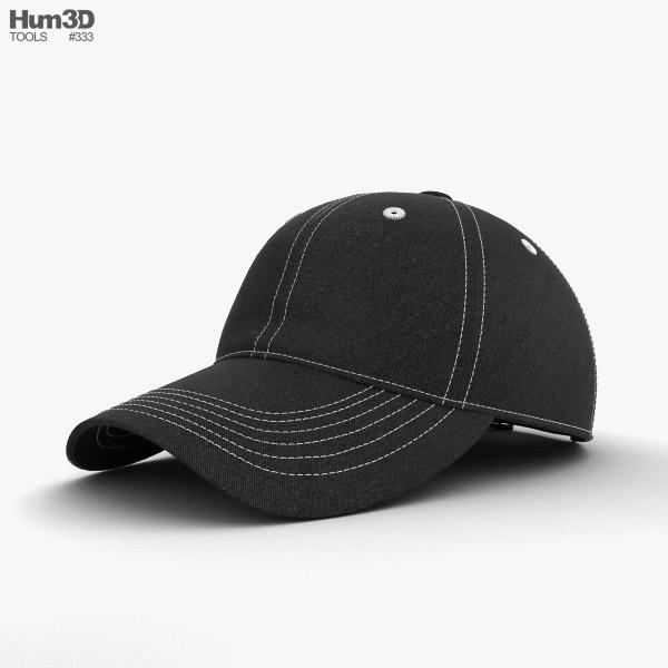 野球帽 3Dモデル
