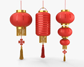3D model of Chinese Lantern