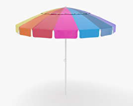 3D model of Beach Umbrella
