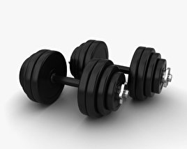 3D model of Dumbbell