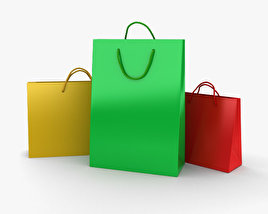 3D model of Shopping Bag